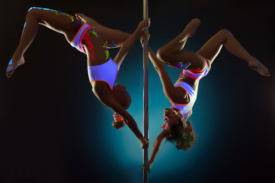 Neon Pole Party - Poledance 4 You - Berlin