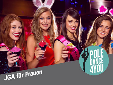Pole Dance Kurs Junggesellinnenabschied Berlin - Poledance 4 You