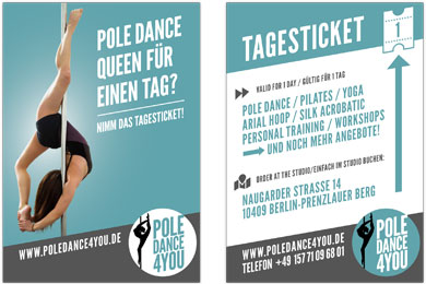 Tagesticket - Poledance 4 You - Berlin