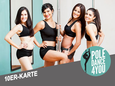 10'er Karte kaufen - Poledance 4 You - Berlin