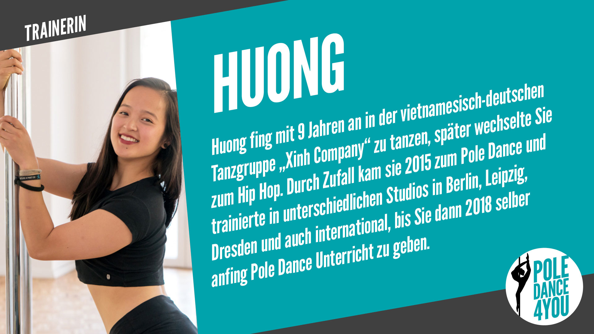 Pole Dance Trainerin Huong